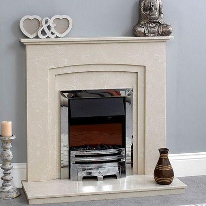 Peko Marble Fireplace From Qasim