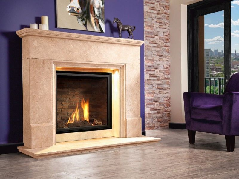 Distinction Illumia Gas Fire Suite From Michael Miller