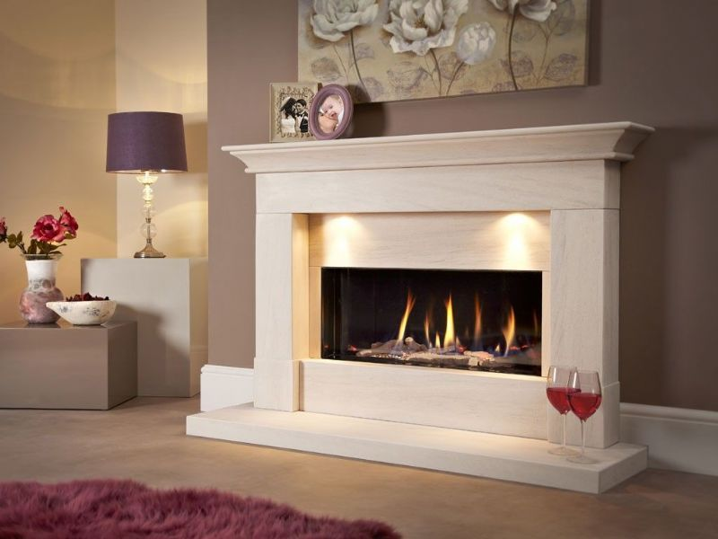 Parada Illumia 54l Balanced Flue Gas Fire Suite From