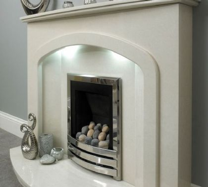 Glasgow Marble Fireplace From Qasim